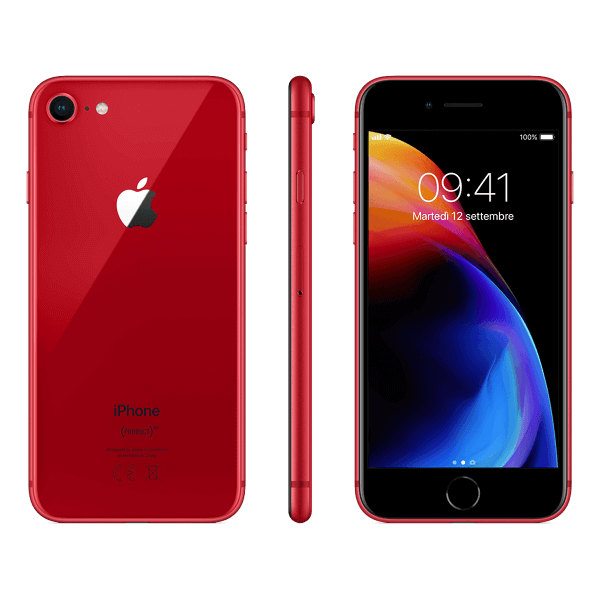 You Mobile iPhone 8 Rood