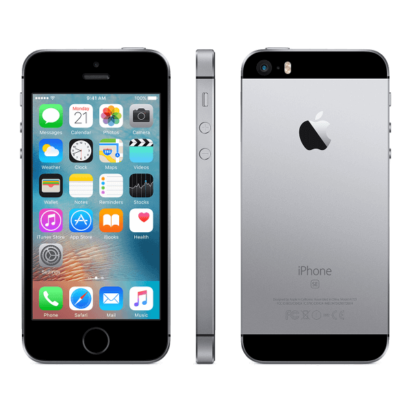 You Mobile iPhone SE Space Grey