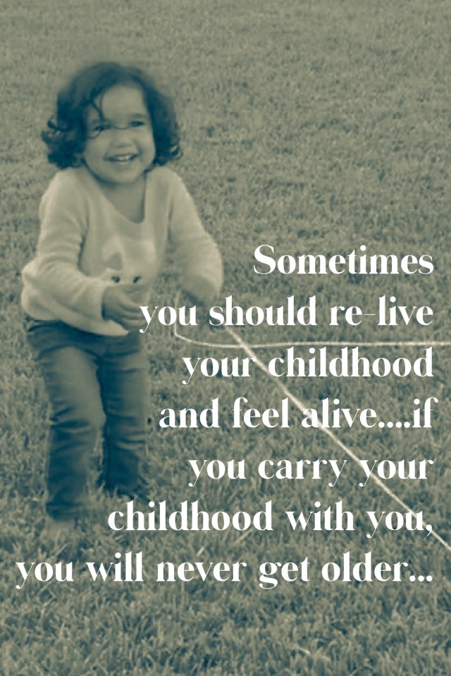Re-live your childhood…