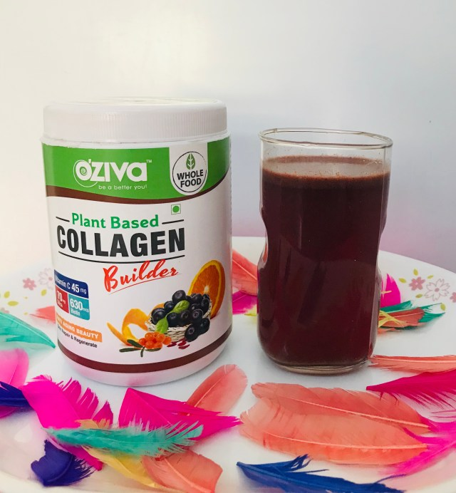 OZiva plant based collagen builder- for berrylicious healthy skin