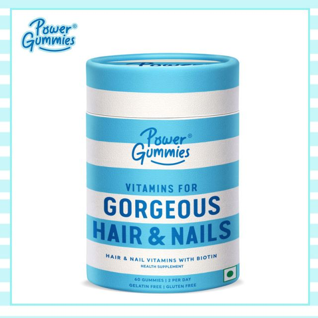 Power Gummies for Hair and Nails- Review