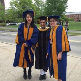 Yoon and Sarah Graduation (May 2015)
