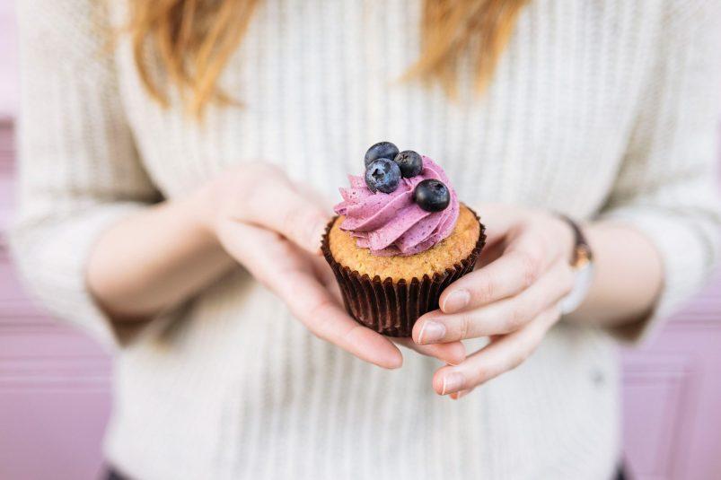 Cupcakes und Zuckerblüten bei Peggy Porschen