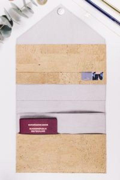 Reiseetui selber nähen inklusive kostenlosem Schnittmuster - von You & I DIY
