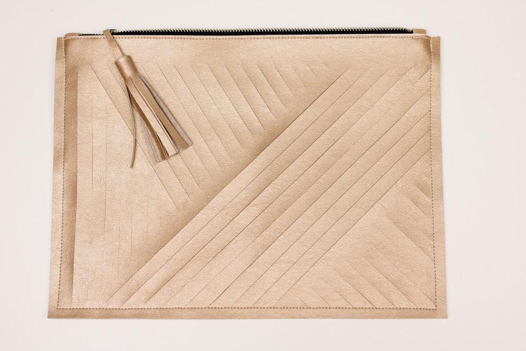 DIY Tasche nähen - den perfekten Reißverschluss Abschluss nähen