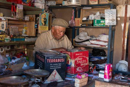 The small shop in Antofalla