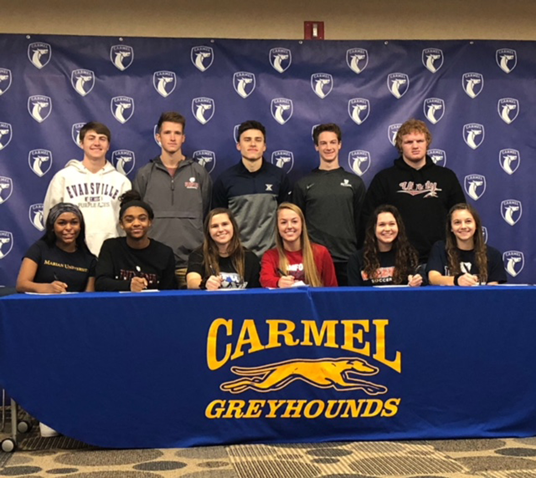 Snapshot Chs Students Sign Letters Of Intent Current Publishing