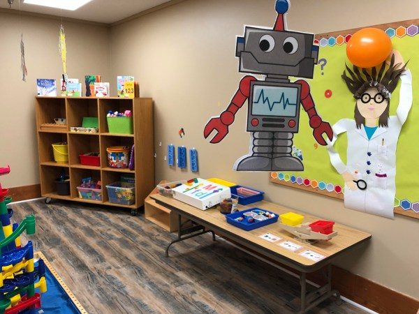 St. Mark' Launches Steam Room Preschoolers Current