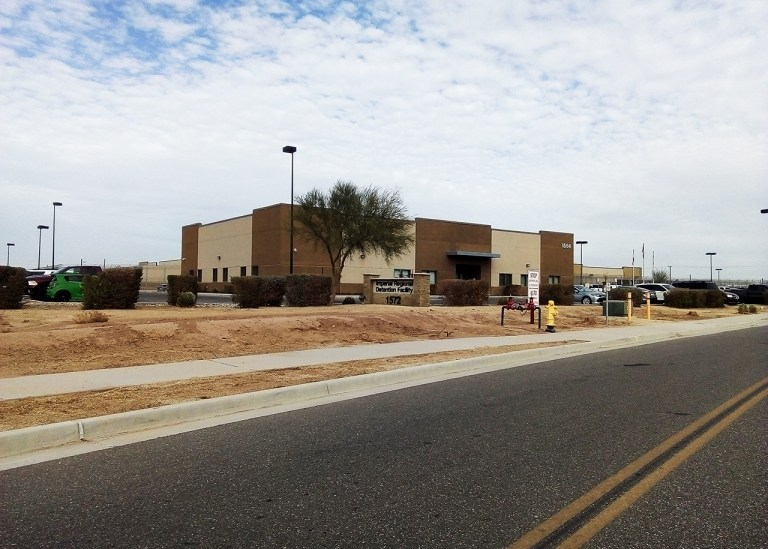 Imperial Regional Detention Facility is operated by Management & Training Corporation MTC in Calexico, California.