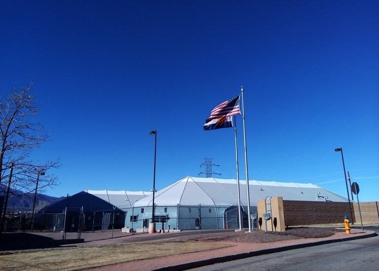 El Paso County Criminal Justice Center is operated by Immigration and Customs Enforcement in Colorado Springs, Colorado.