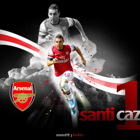Santi Cazorla Custom Wallpaper