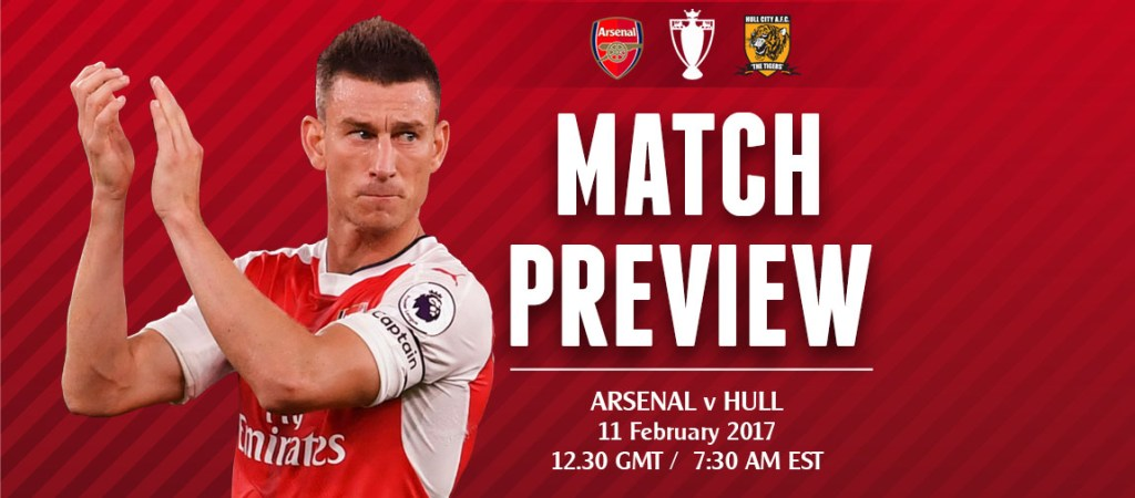 Match Preview: Arsenal V Hull City; Let's not get it twisted.