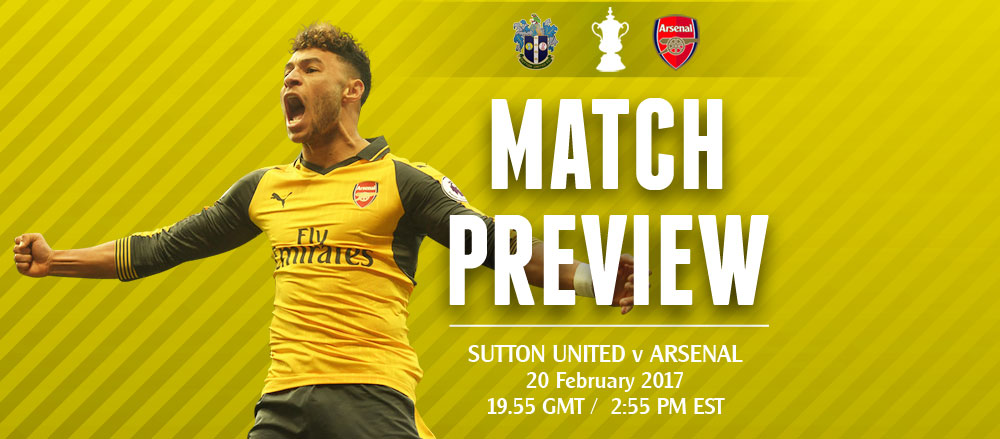 Match Preview: Sutton United v Arsenal; Hoping for a Brief Respite