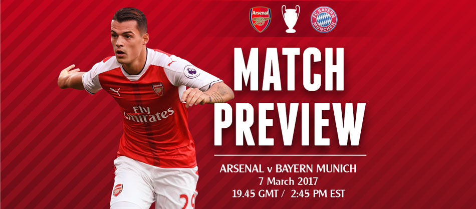 Match Preview: Arsenal v Bayern Munich; I Know You Rider