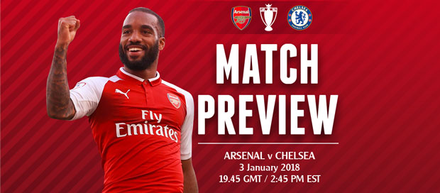 Match Preview: Arsenal v Chelsea; Festive Frustration To Continue?