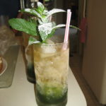 Nothing says summertime like mint juleps with fresh mint.