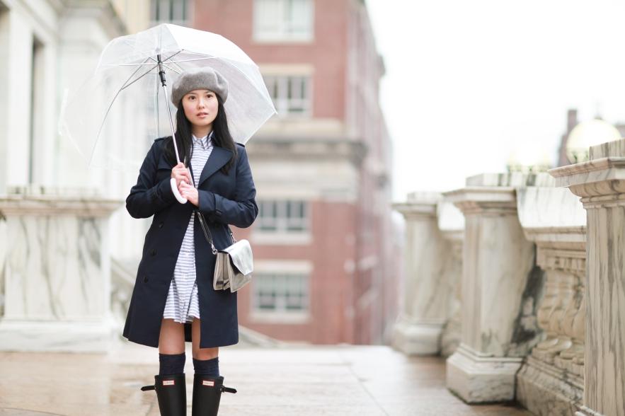 下雨天穿搭:穿這樣去上班 論雨靴的重要性 - YOU ARE WHAT YOU WEAR