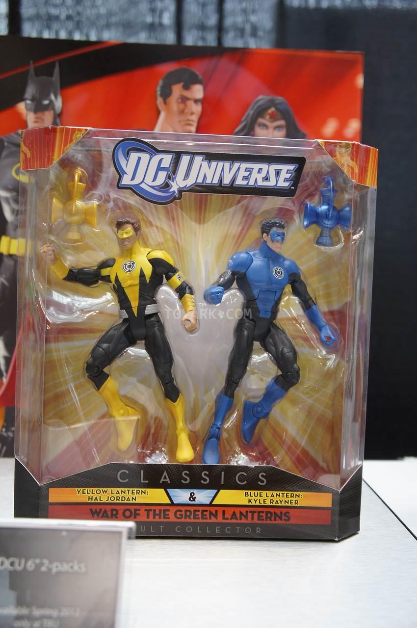 Toy Fair 2012 Mattel  DC Universe 2012 And DC Universe