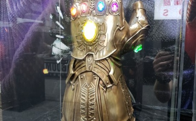 Sdcc 2018 Sideshow S Infinity Gauntlet Will Cost You An