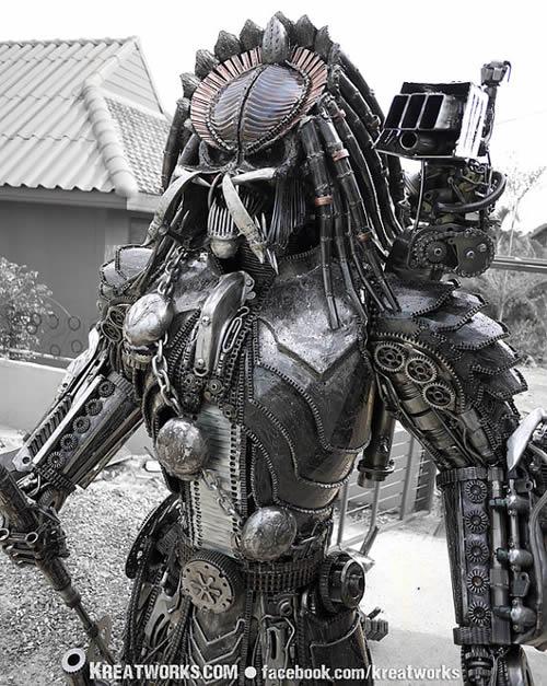 Kreatworks Amazing Steampunk Predator And Alien Metal