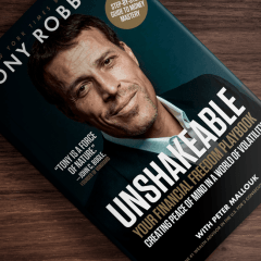 The Top Inspirational Quotes From Unshakable by Tony Robbins