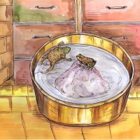 Inspirational stories #1 :Two frogs in the milk