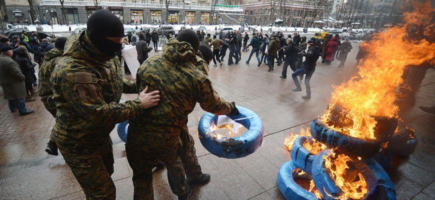 25 февраля в Киеве проходит митинг таксистов, недовольных организацией таксомоторных перевозок в столице Украины.