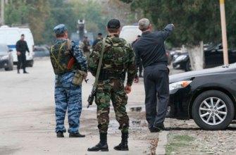 Первые видео кадры теракта в Чечне