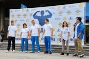 В Москве состоялась акция «Зарядка со стражем порядка-2016»