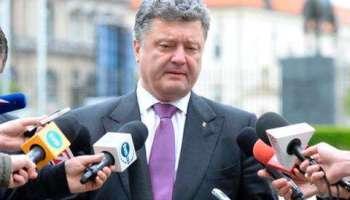 Президент Украины Петр Порошенко заявил, что международные партнеры Украины не признают выборы президента России в Крыму.