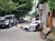 В Бразилии вертолет упал на жилой сектор(Видео)