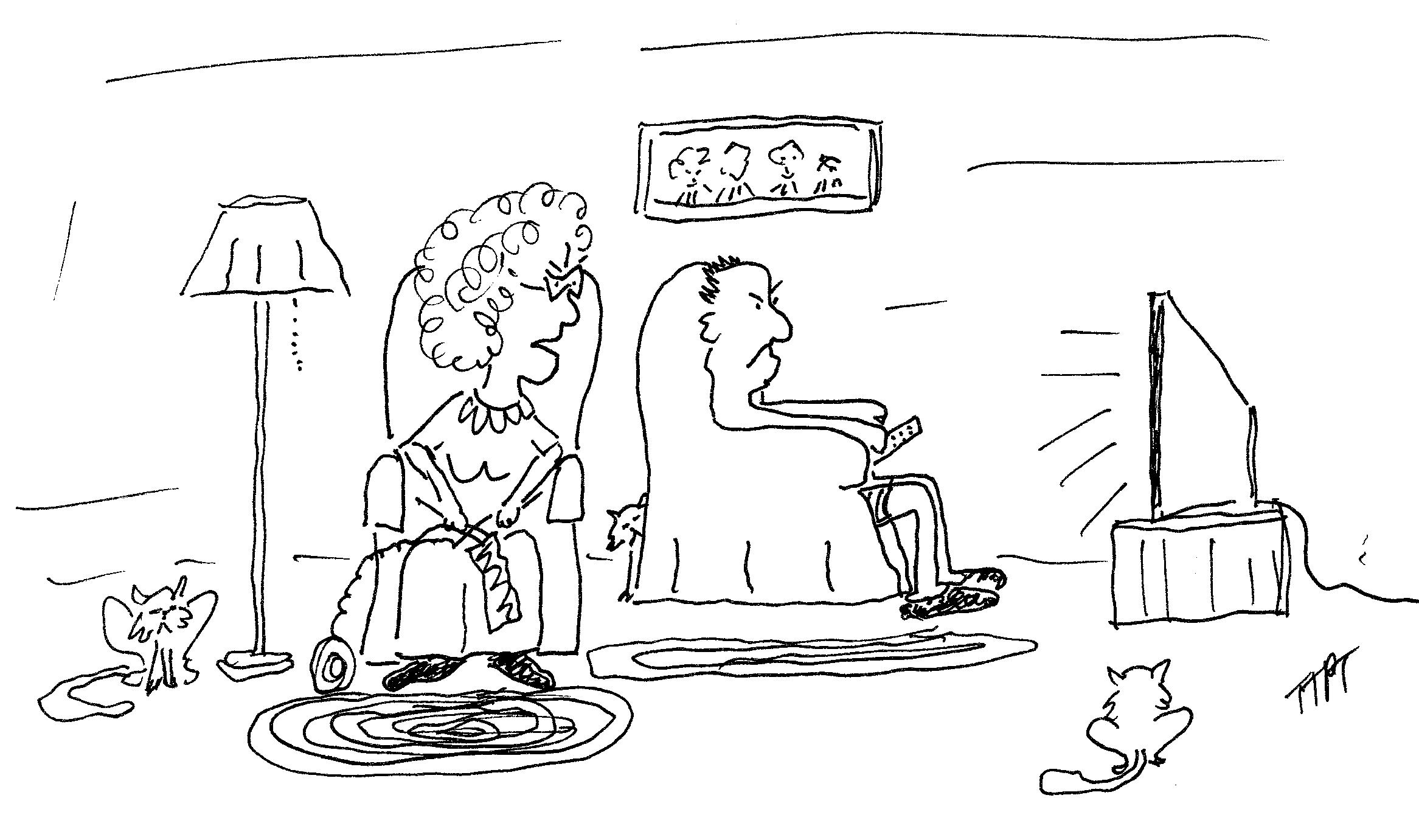 Happy Retirement Cartoon