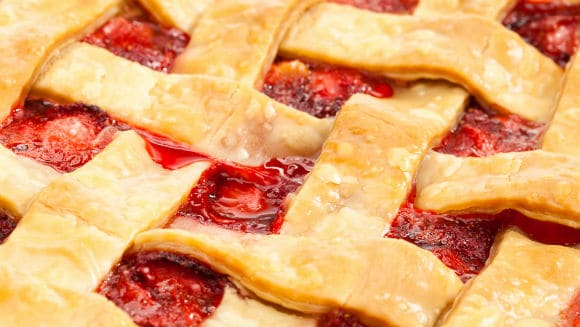 Enjoy This Simple And Easy Strawberry Rhubarb Pie  RECIPE! {Video}