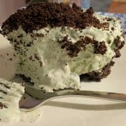 No Bake Grasshopper Pie with Cool Whip | a 60's treat