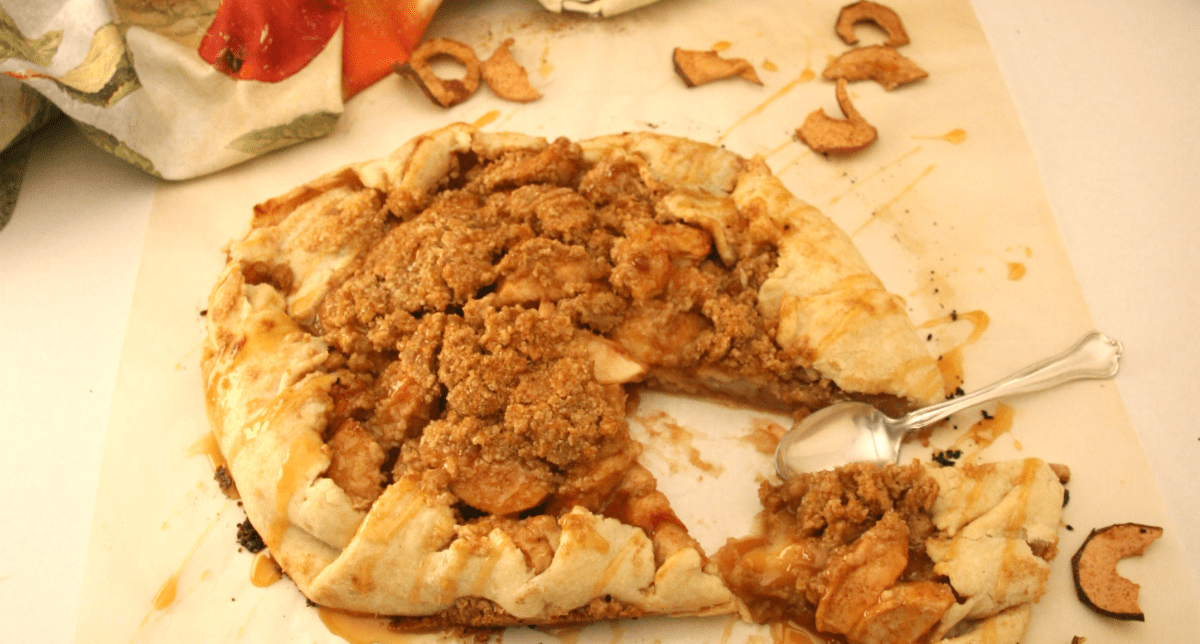 Harvest Apple Galette | Just Like Apple Pie!