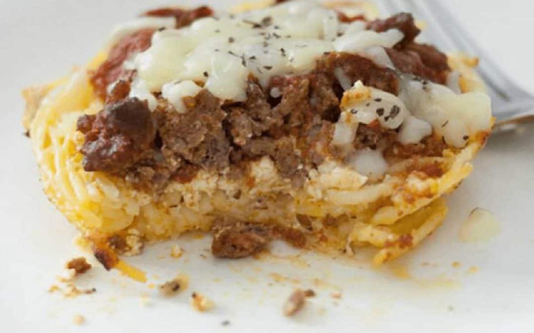 The Best Mini Spaghetti Pie Casserole You Can Make in 30 Minutes!