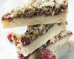 Raspberry Pie Dream Bars
