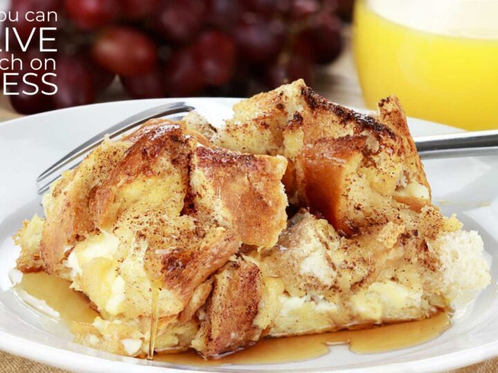 Cinnamon Raisin French Toast Casserole