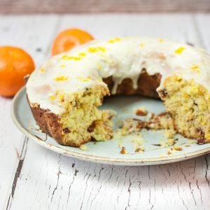 You will love this Delicious Orange Cranberry Bundt Cake Recipe, full of flavor with fresh oranges, tart cranberries & yummy Orange Glaze!