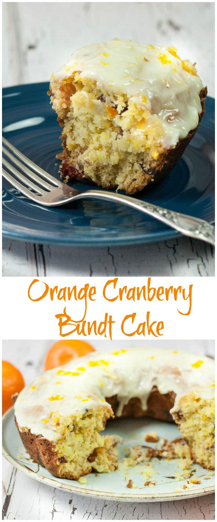 You will love this Delicious Orange Cranberry Bundt Cake Recipe, full of flavor with fresh oranges, tart cranberries & yummy Orange Cranberry Glaze! Sweet & tart this homemade scratch cake is soft but also dense like a pound cake. You can feed a crowd too! #bundtcakes #orangecranberry #orangecranberryglaze #cranberrycakerecipes