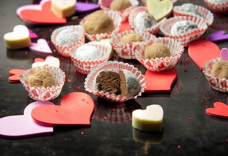 Sweet n' Sexy Chocolate Rum Truffles