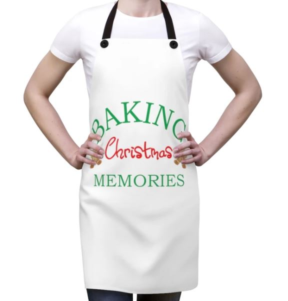 Baking Christmas Memories Apron