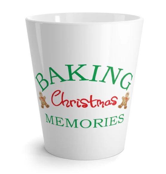 Baking Christmas Memories Latte mug