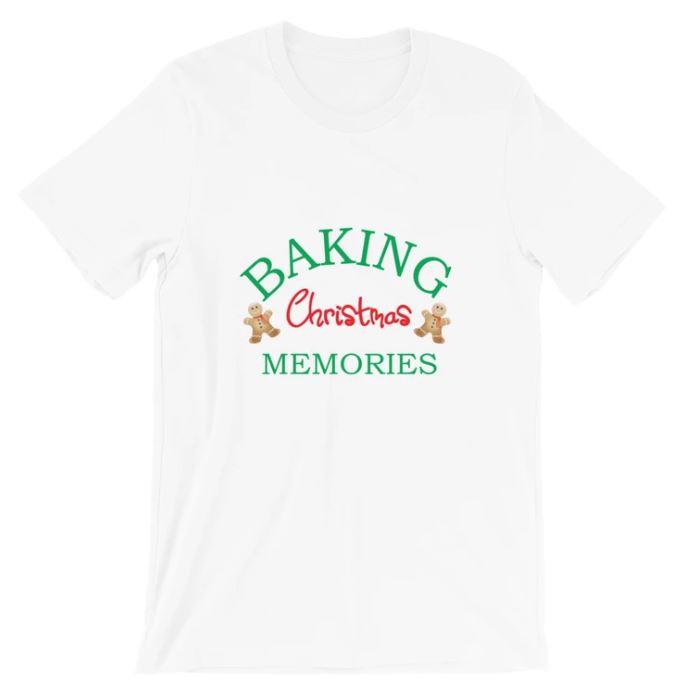 Baking Christmas Memories Short-Sleeve Unisex T-Shirt