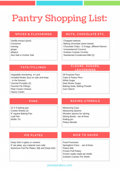 How To Set Up a Baker's Pantry provides you with a checklist of everything you really need! The Baking Essentials to help you get organized, set up your Baker's Pantry and bake some drool worthy recipes!