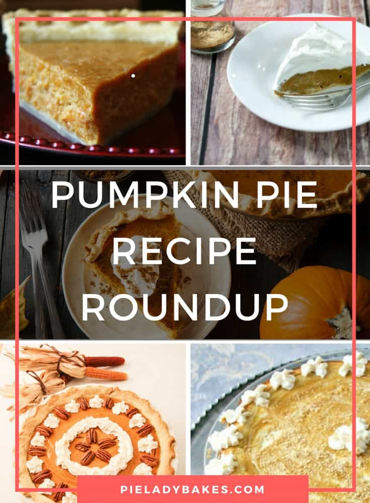 Pumpkin Pie Recipe Roundup | Pie Awesomeness Awaits