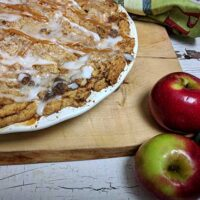 Cinnamon Roll Apple Pie Recipe | Dutch Apple Pie!