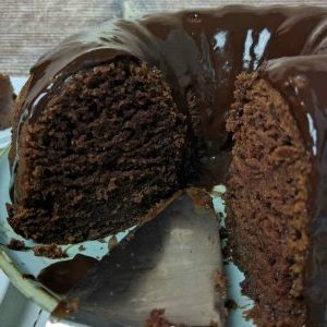 Chocolate Buttermilk Bundt Cake ~ Make It Up in One Bowl!