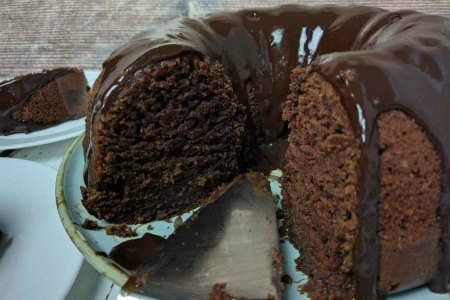 Chocolate Buttermilk Bundt Cake ~ Make It Up in One Bowl!{Video}