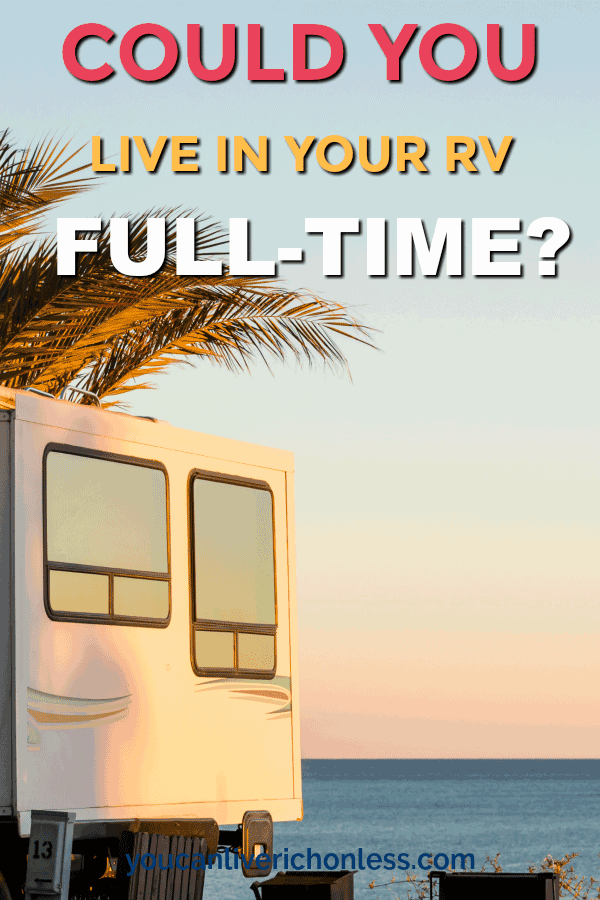 Full Time RV Living is very popular!  Have you ever wondered what it would be like to live in an RV full time?  Full time RV Living is affordable too!  We've got 33 reasons why full time RV living has become so poular.  #rv #rvlife #rvliving #simple #simpleliving #lifestyle #camping